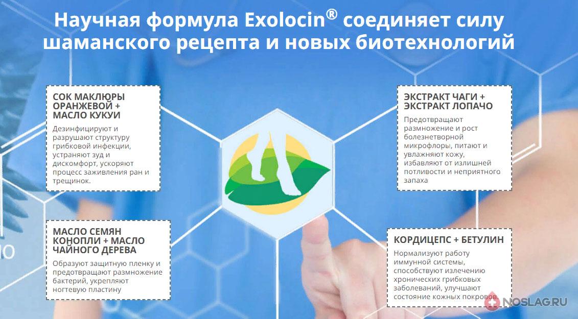 Экзолоцин от грибка ногтей Exolocin2