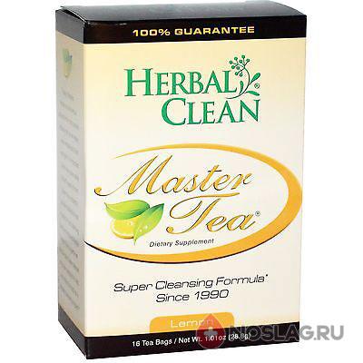 Чай травяной «Супер очищение на травах — Активный лимон» (16 пакетов)